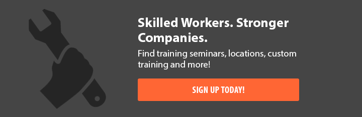 Skilled Workers. Stronger Companies. Find training seminars, locations, custom training and more! Sign Up Today!