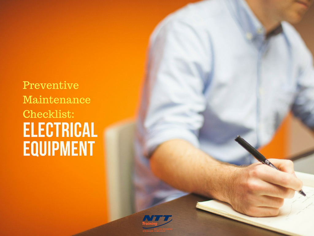 Preventive Maintenance Checklist for Electrical Equipment