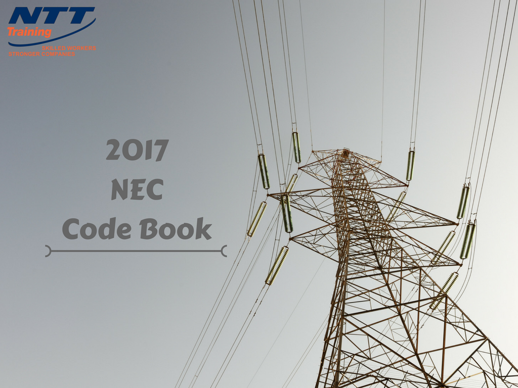 The 2017 NEC® Code Book: A Beginner\'s Guide | NTT Training
