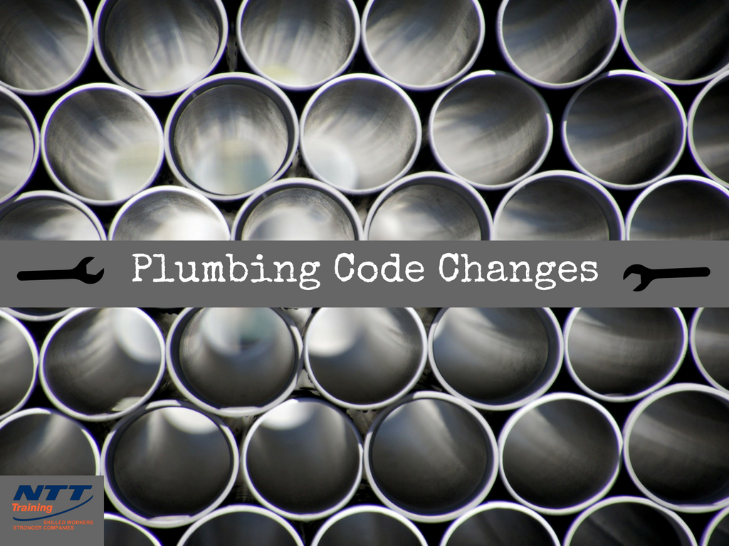 Plumbing Code Changes You Should Know