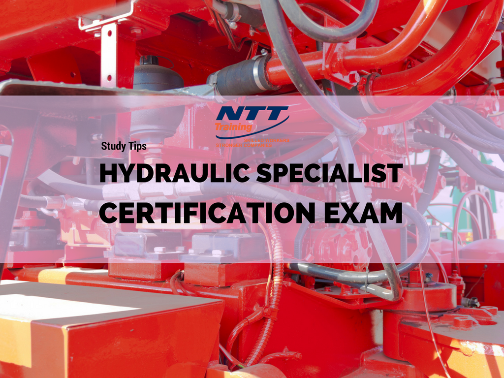 Study Tips Hydraulic Specialist Certification Exam