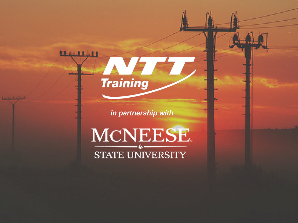 NTT Training partners with McNeese State