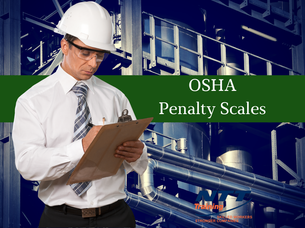 What are OSHA Penalty Scales?